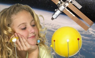 Workshop solar system girl